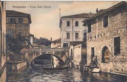 (C).Portogruaro(Ve).Ponte Della Stretta.F.to Piccolo (c17) - Venezia (Venedig)