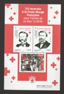 "FRANCE / 2020 / Y&T N° 5430/5432 ? ** (Feuillet ""Croix-Rouge : Dunant, Moynier & Collecte"") X 1 - Mint/Hinged"