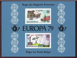 België LX68 - Luxevelletje - Feuillet De Luxe - Europa 1979 - (1930/31) - Verbindingen - Telecommunicatie ! LOT 327 - Luxevelletjes