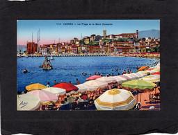 96405    Francia,  Cannes,  La Plage Et Le Mont  Chevalier,  NV(scritta) - Cannes