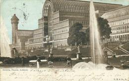 "9533""CRYSTAL PALACE-LONDON"" -VERA FOTOGRAFIA-CARTOLINA SPEDITA 1903 - Andere"
