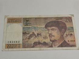 France, 20 Francs Debussy 1988 - 1962-1997 ''Francs''
