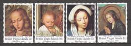 British Virgin Islands 1991 Mi 749-752 MNH CHRISTMAS - PAINTINGS QUINTEN MASSYS - Christmas