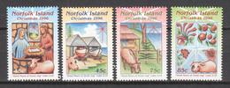 Norfolk Island 1996 Mi 621-624 MNH CHRISTMAS - Noël