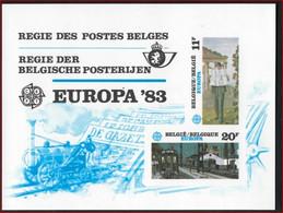 LX72 ** EUROPA 1983 Delvaux Train Cote 110 E  ! LOT 327 - Luxevelletjes