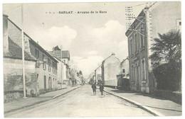 Cpa Sarlat - Avenue De La Gare - Sarlat La Caneda