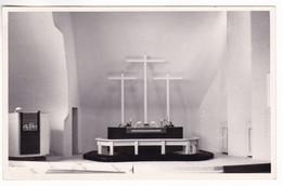 CP1358 Finland Imatra Kolmen Ristin Kirkko The Three Crosses At The Altar - Finlandia