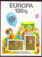 BELGIQUE COB LX78 ** MNH EUROPA 1989 CEPT , COB: 125. (4LX31)   ! LOT 327 - Luxevelletjes