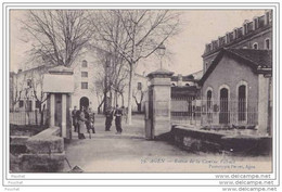 47) Agen.-  Entrée De La Caserne Valence - Agen