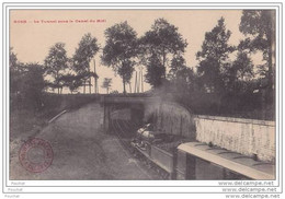 47)  Agen -  Le Tunnel Sous Le Canal Du Midi   - (train Vapeur - Locomotive) - Agen
