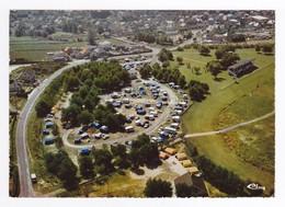 50 COUTAINVILLE Vers Coutances Vue Aérienne Camping Du Martinez Ou MARTINET Caravanes Hippodrome Tribune Ligne D'arrivée - Coutances
