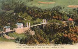 JMD73100Gorges Du ChéranRoute D'Aix Les Bains En Bauges Et Annecy - Vue Générale Des Hôtels Du Pont De L'abîme4999 - Sin Clasificación