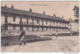 M18- 71)  CHAGNY (SAÔNE ET LOIRE) CITE DES TUILERIES - (ANIMÉE - 2 SCANS) - Chagny