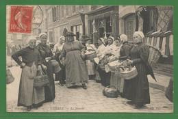 23 - Creuse - Gueret -  LE MARCHE TRES ANIMEE 1907 - Guéret