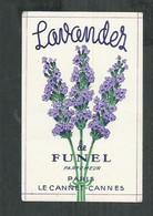 Lavandes De Funel  Parfumeur à Le Cannet-Cannes (Alpes Maritimes) - Parfumkaarten