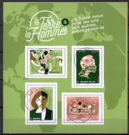 FRANCE 2020 BLOC XX TERRE DES HOMMES OBL JOUR EMISSIONS 21/09/20  VOIR SCAN - Used Stamps