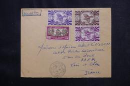 NOUVELLE CALÉDONIE - Enveloppe De Nouméa Pour La France En 1946 Par Avion - L 73009 - Storia Postale