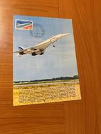Document -  PARIS/RIO 1976    ( Voire Scan )  Port Offert - Concorde