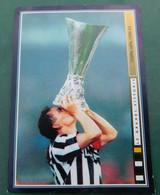"""Roberto Baggio, Coppa U.E.F.A. 1992/93 # Juventus # Figurina Album  """" Le Grandi Vittorie """" N. 133 - Trading Cards"""