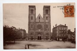 - CPA BOURGOIN (38) - L'Eglise 1928 - Photo GOUTAGNY 447 - - Bourgoin
