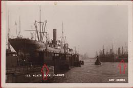Rare Old Photo Card Wales Cardiff Roath Dock Cardiff - Non Classés
