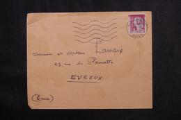 ALGÉRIE - Enveloppe De Alger En 1962 Pour La France, Affranchissement Decaris Surchargé EA - L 73015 - Algerije (1962-...)