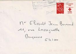 TP N° 3745 Seul Sur Enveloppe De Gray - 1961-....