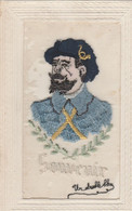 CPA BRODEE SOUVENIR CHASSEUR ALPIN   ETAT - Regiments