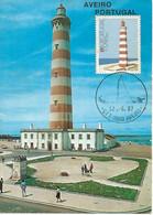 MAXIMUM CARD - MAXICARD - MAXIMUM KARTE - CARTE MAXIMUM - PORTUGAL  - LIGHTHOUSE - PHARE - AVEIRO - Leuchttürme