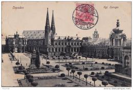 H8-  ALLEMAGNE - DRESDEN - HGL  ZWINGER - Dresden