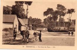 BERNEVAL  -  2 Cartes  -  Un Coin Du Pays  -   L'Etang - Berneval