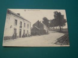COUTISSE Sainte-Begge  Café Arrêt Tram Stoomtram Vicinal Ligne Andenne - Sorée. Prés Ohey Strud Haltinne. Postée 1924 - Andere