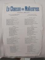 La Chanson Des Malheureux,/  L'cocu Contint, Satisfait Et Battu / Le Dernier Baiser D'une Mère/   Rendez Moi Ma Maman - Chansonniers