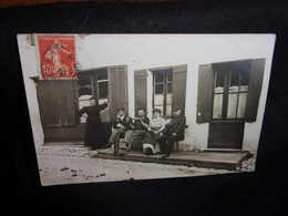 Bordeaux . La Bastide. Café - Billard ,Rue De Nuits. Carte Photo.Tirage Privé. Voir 2 Scans. - Bordeaux