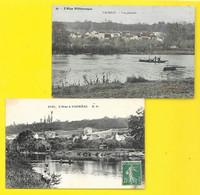 VAUREAL 2 Cpa De L'Oise (Malcuit) Val D'Oise (95) - Vauréal