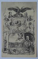 8 Franz Joseph Josef I Kaiser 1908 Emperor 60 Years Coronation Aniversary 1848-1908 Royal Lineage - Case Reali
