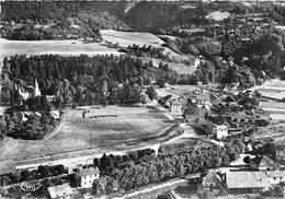 74-SAINT-PIERRE-DE-RUMILLY- LE CHATEAU LES HÔTELS VUE AERIENNE - Autres Communes