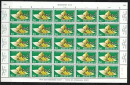SUISSE 1955: Minifeuille De 25 TP Du ZNr. 321, Neufs** - Nuovi