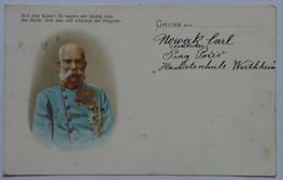 5 Franz Joseph Josef I Kaiser 1898 Emperor 50 Years Coronation Aniversary 1848-1898 - Royal Families
