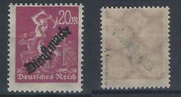 D. Reich Dienst Michel-Nr. 75y Postfrisch - Geprüft - Dienstpost