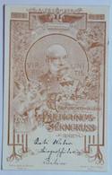 3 Franz Joseph Josef I Kaiser 1898 Emperor 50 Years Coronation Aniversary 1848-1898 Viribus Unitis - Case Reali