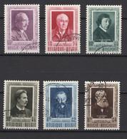 Belgique: 1952. COB : 892/97, Oblitéré(s). - Used Stamps