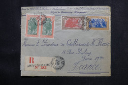 MADAGASCAR - Enveloppe En Recommandé De Arivonimamo Pour La France En 1938 - L 73039 - Storia Postale