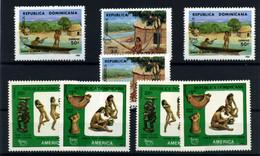 República Dominicana Nº 1061/62, 1084A/B. Año 1989/90 - República Dominicana