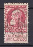 N° 74  LIEDEKERKE  COBA +20.00 - 1905 Grosse Barbe