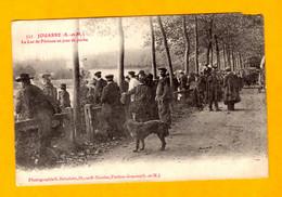 Jouarre Le Lac De Péreuse Un Jour De Pêche Animation     Edt   Brindelet     N° 552 - Other Municipalities