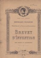 Brevet D'Invention - Ministère De La Production Industrielle - 1947 - Planches & Plans Techniques