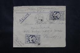 A.R.F. - Enveloppe De La Mission D'Etudes Routières En A.E.F. , De Dolisie Pour Paris En 1945 - L 73048 - Covers & Documents