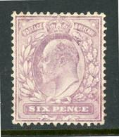 """-GB-1902-""""King Edward VII"""" MH (*) (Chalky Paper - Ungebraucht"""