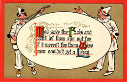 CLOWNS  PIERROT  GOD SAVE THE FOOLS  Pu 1910 - 1900-1949